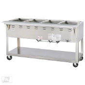 New 4 Well Steam Table In-Stock GAS