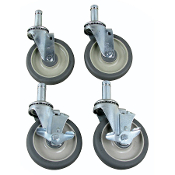 Post Shelving Casters UNIVERSAL