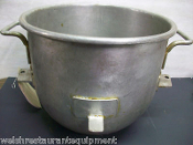 30 qt. BOWL Hobart Stainless Mixing