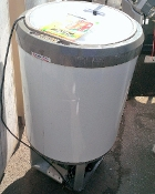 Drop In Ice Bin w/ hinged cover