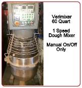 Mixer 60 Quart 1 Speed