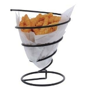 Tablecraft Spiral Metal Basket