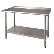 "72""  Work Prep Table Stainless"