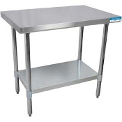 "Stainless 24"" Work Table"