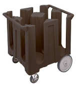 NEW Cambro DISH CART CADDY DC1225131 BROWN FIXED to 12-1/4 ''