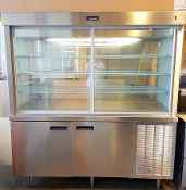 6' Bakery Pie Display Case Refrigerated