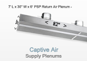 Return Air Plenum 7' x 30''