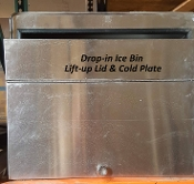 Ice-Bin Cold Plate Drop-in